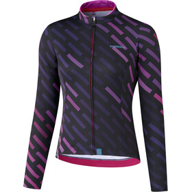 Shimano Kaede Thermal LS Jersey Women purple